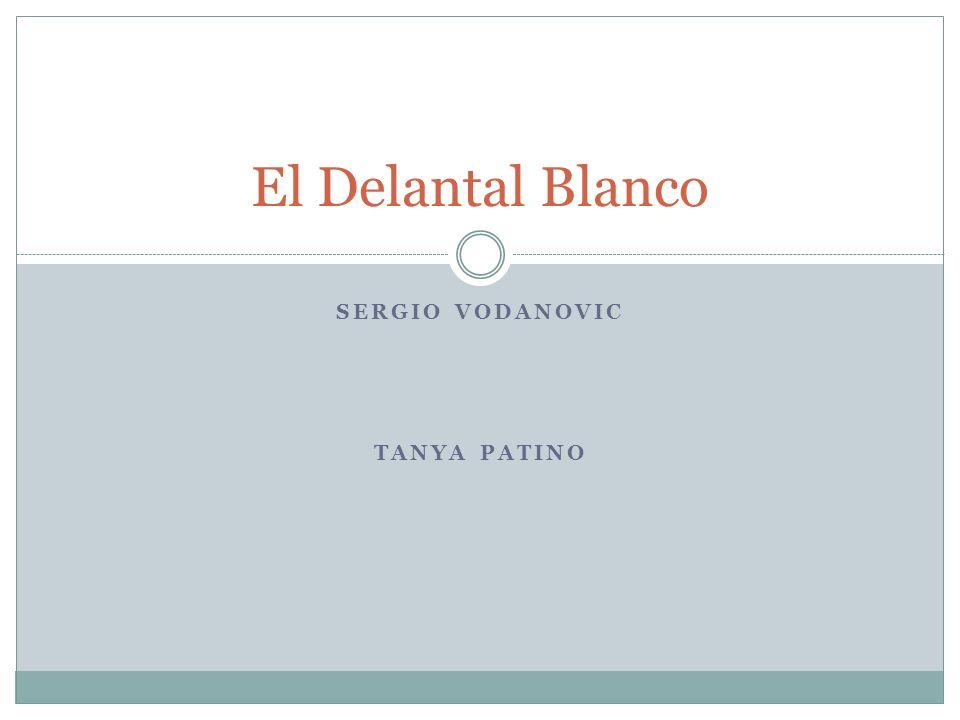 SERGIO VODANOVIC TANYA PATINO El Delantal Blanco