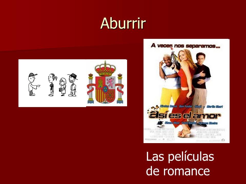 Aburrir Las películas de romance