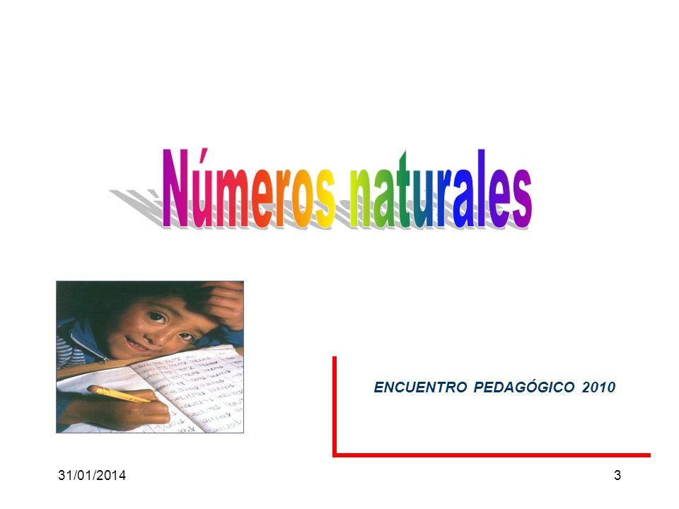 31/01/201413 Problemas de porcentajes Asignaremos nombres a los diferentes elementos que integran el cálculo de un tanto por ciento: 30% de 40 = 12 porcentajetotalparte En el salón de clase, el 40% son mujeres.