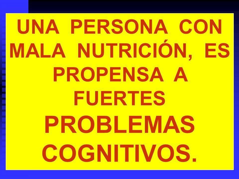 El componente estilo de vida El cerebro necesita ser nutrido diariamente para lograr un desarrollo permanente.