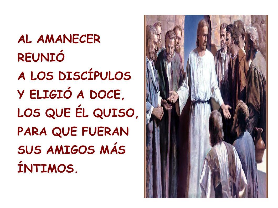 NOS CUENTAN LOS EVANGELIOS QUE HACE MÁS DE 2.000 AÑOS, SE RETIRÓ JESÚS AL MONTE, Y PASÓ LA NOCHE EN ORACIÓN.