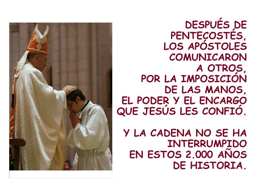 LOS HIZO PUENTES PARA UNIR LAS DOS ORILLAS: DIOS Y LA HUMANIDAD.