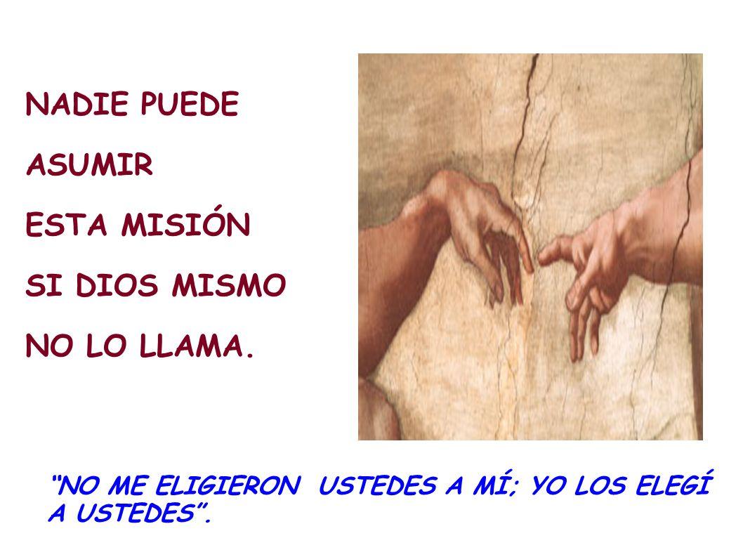 DESPUÉS DE PENTECOSTÉS, LOS APÓSTOLES COMUNICARON A OTROS, POR LA IMPOSICIÓN DE LAS MANOS, EL PODER Y EL ENCARGO QUE JESÚS LES CONFIÓ. Y LA CADENA NO