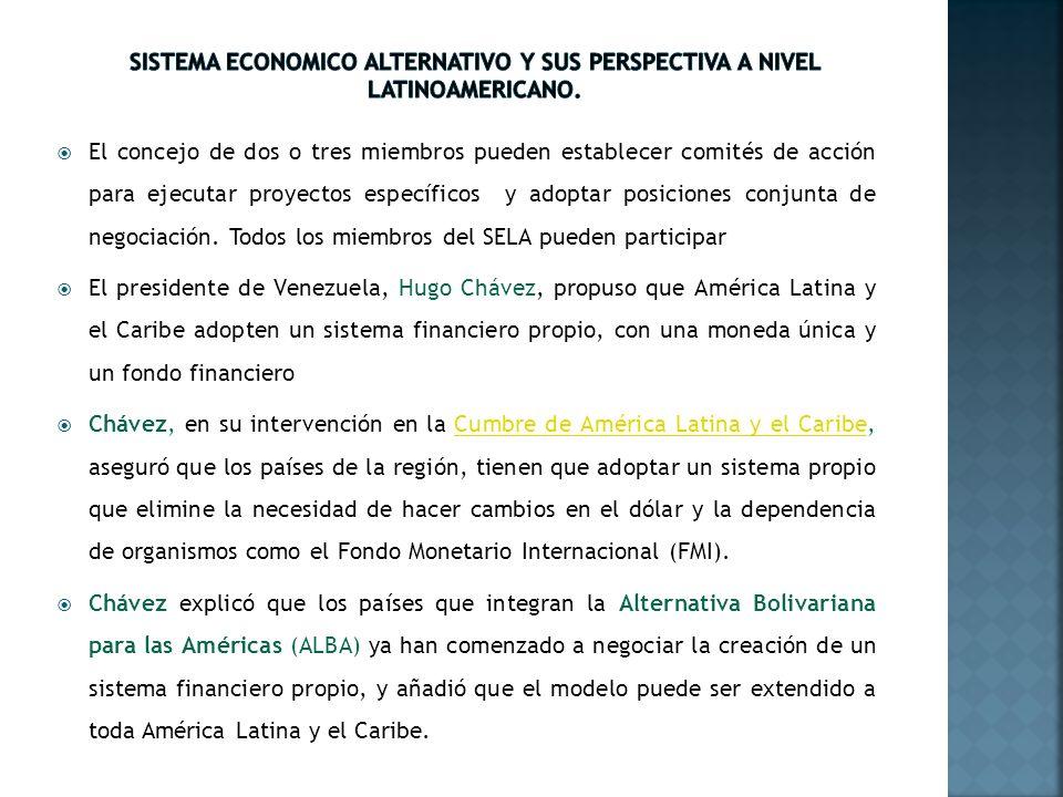 Según Chávez, el sistema contaría con una moneda que serviría para sustituir el dólar en operaciones de cambio y otras cuatro herramientas: 1.