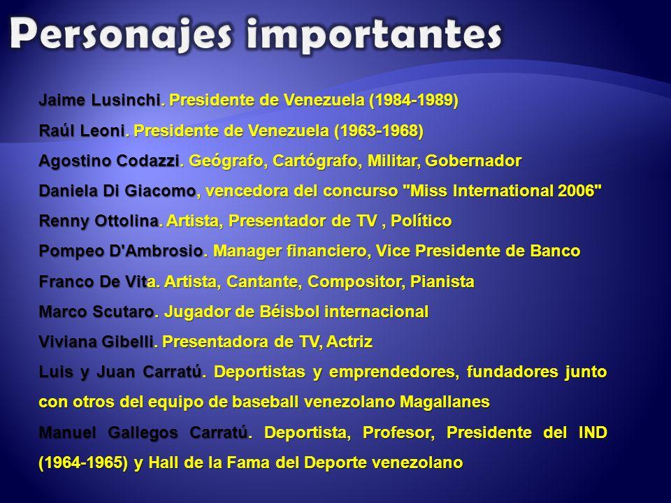 Jaime Lusinchi. Presidente de Venezuela (1984-1989) Raúl Leoni.