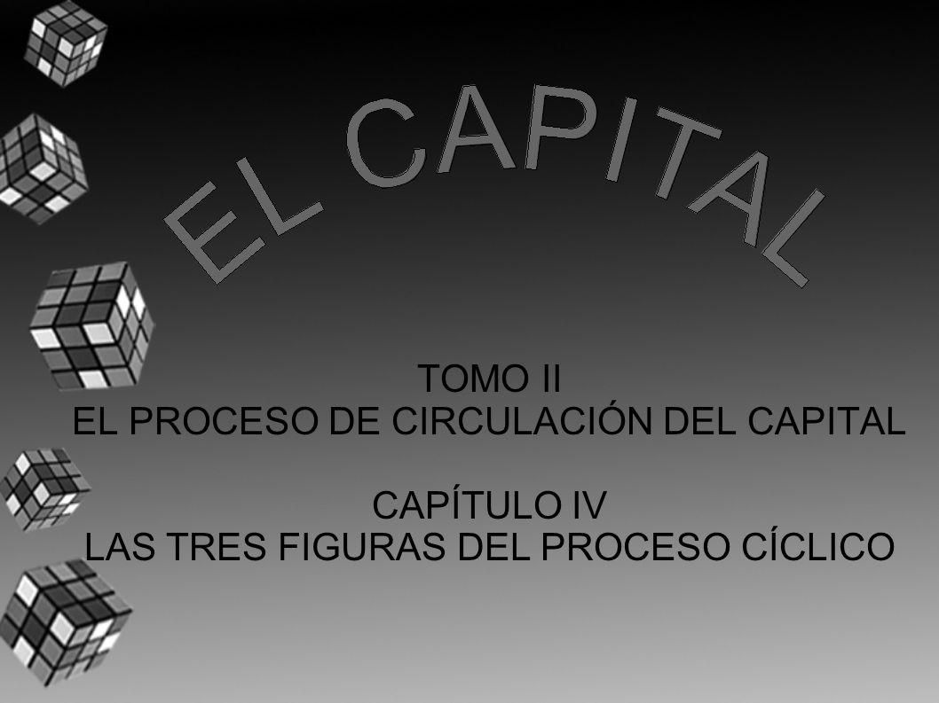 TOMO II EL PROCESO DE CIRCULACIÓN DEL CAPITAL CAPÍTULO IV LAS TRES FIGURAS DEL PROCESO CÍCLICO
