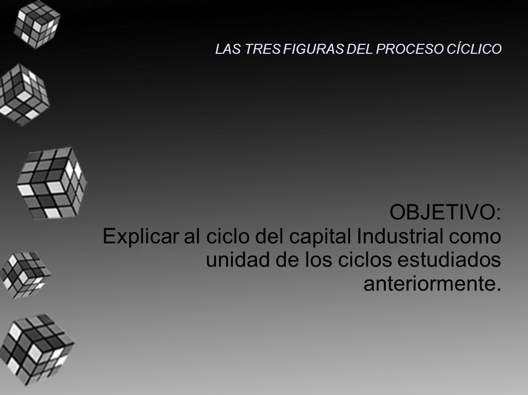 OBJETIVO: Explicar al ciclo del capital Industrial como unidad de los ciclos estudiados anteriormente.