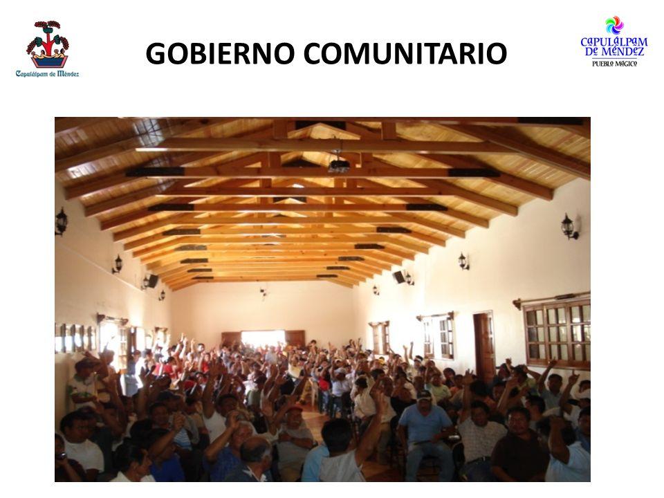 GOBIERNO COMUNITARIO