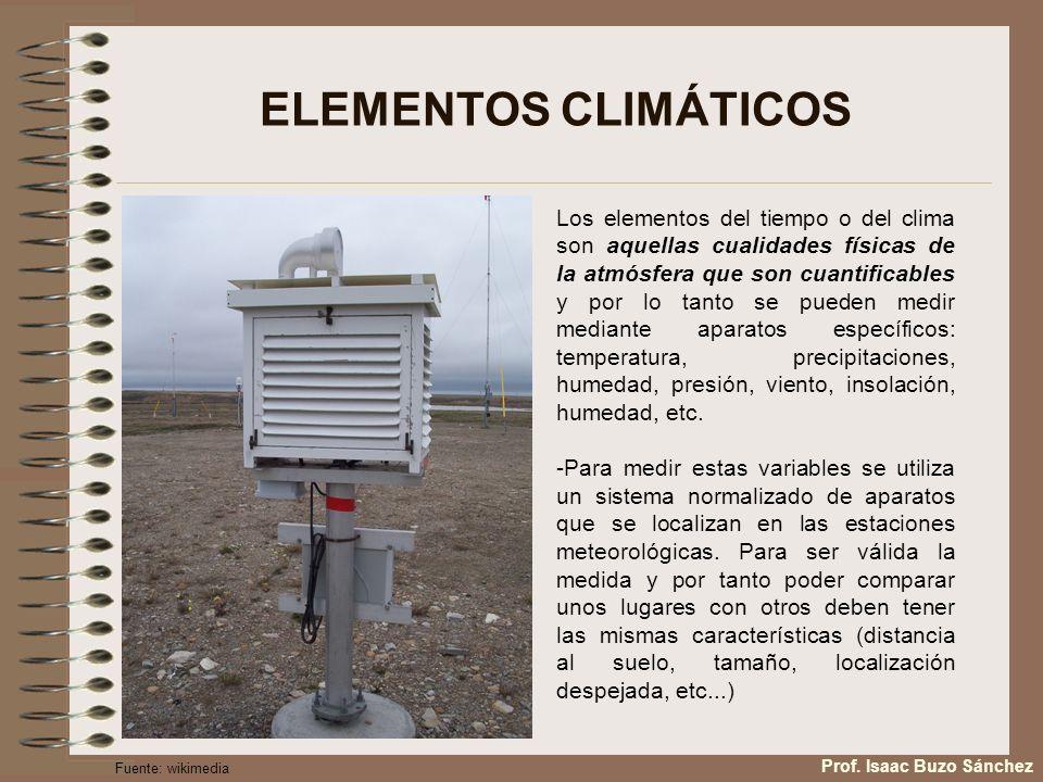 FACTORES CLIMÁTICOS: Factores dinámicos: Corriente en chorro -Se trata de una corriente tubular de fuertes vientos que circulan en las capas altas de la atmósfera entre los 30º y los 50º de latitud Norte con sentido Oeste-Este.