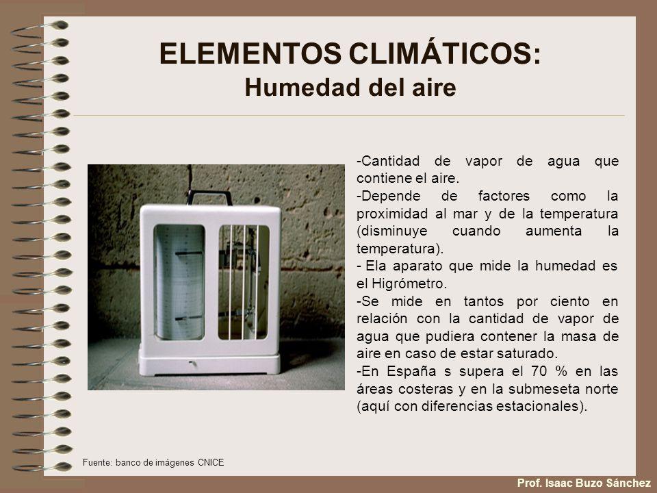 FACTORES CLIMÁTICOS: Factores dinámicos: Centros de acción Fuente:wikimedia Prof.