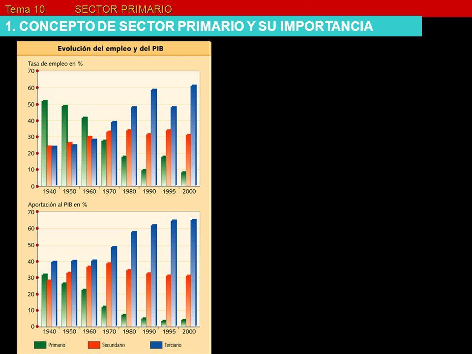 Industrias en el medio rural Tema 10 SECTOR PRIMARIO 3. LA DIVERSIDAD DE LAS ACTIVIDADES RURALES