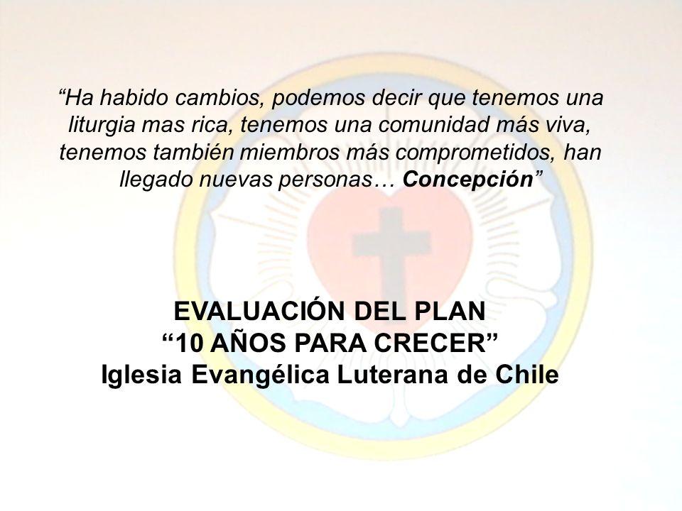La formación de líderes ha sido y es calificada como de suma importancia en el imaginario de la iglesia, está identificada como un valor de la IELCH, (Ministerios Laicos Locales).