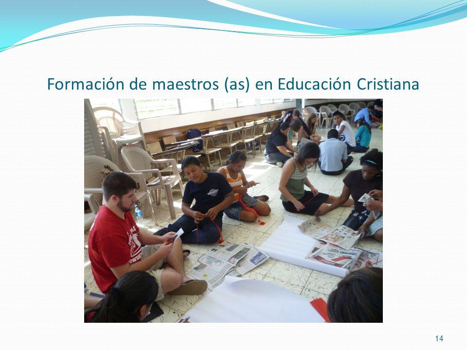 Formación de maestros (as) en Educación Cristiana 14