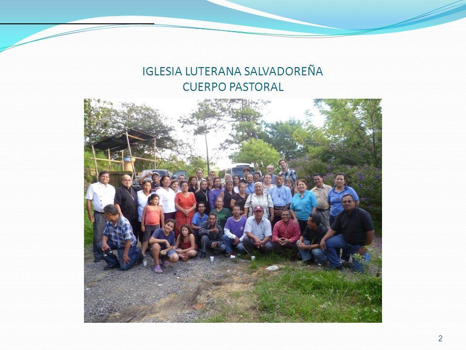 IGLESIA LUTERANA SALVADOREÑA CUERPO PASTORAL 2