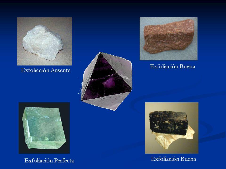 De todas la especies de minerales, solo unos 30 de ellos tienen importancia, por su abundancia, como formadores de rocas.