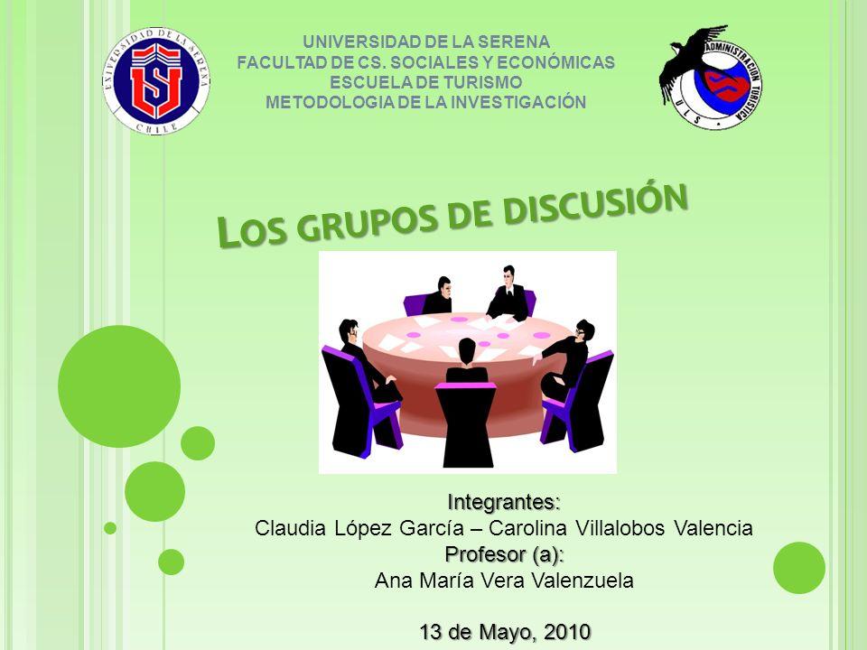 UNIVERSIDAD DE LA SERENA FACULTAD DE CS.
