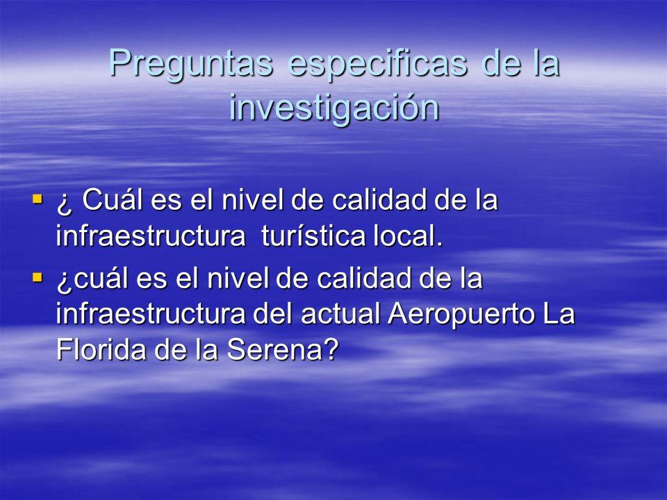 ¿ Cuál es el nivel de calidad de la infraestructura turística local. ¿ Cuál es el nivel de calidad de la infraestructura turística local. ¿cuál es el