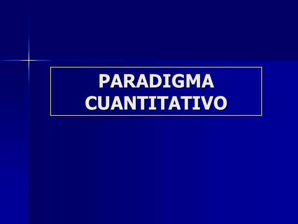 Características Investigación Cuantitativa Cantidad (cuánto, cuántos).