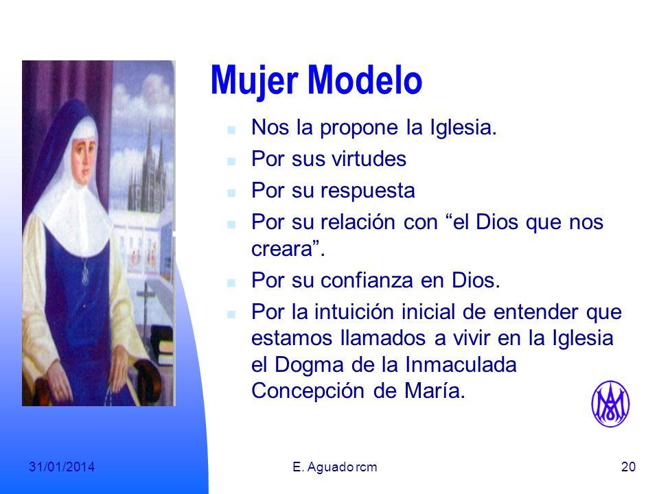 31/01/2014E.Aguado rcm20 Mujer Modelo Nos la propone la Iglesia.