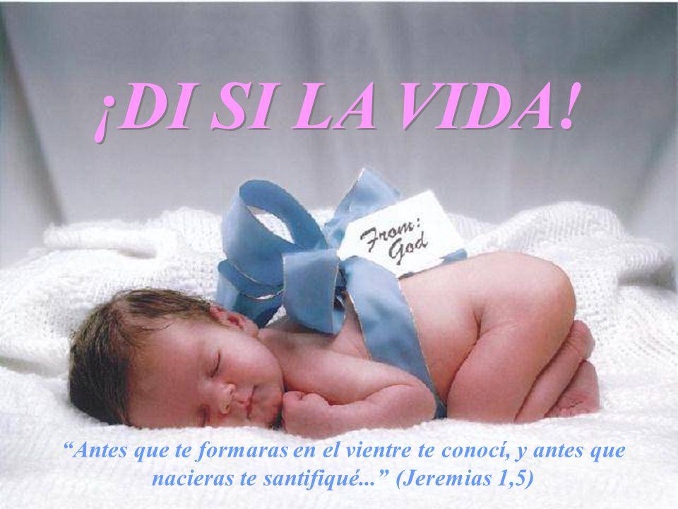 ¡QUIEN AMA NO MATA! ¡¡NO AL ABORTO!!