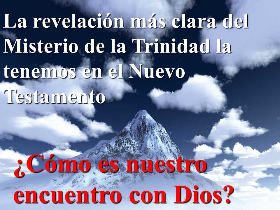 Podemos distinguir tres encuentros con Dios: En el ParaísoEn el Paraíso En el Cantar de los cantaresEn el Cantar de los cantares En el Huerto de la ResurrecciónEn el Huerto de la Resurrección
