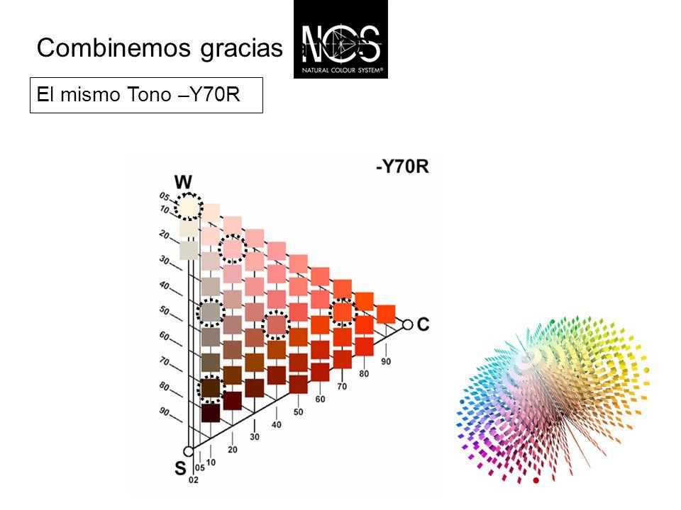 El mismo Tono –Y70R Combinemos gracias a NCS