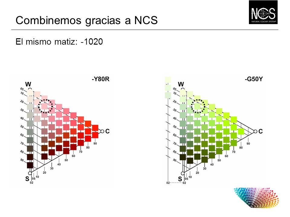 El mismo matiz: Combinemos gracias a NCS -1020