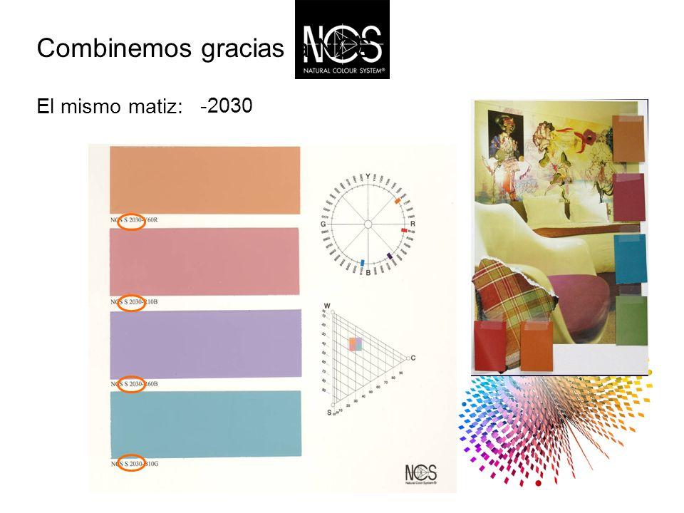 El mismo matiz: Combinemos gracias a NCS -2030