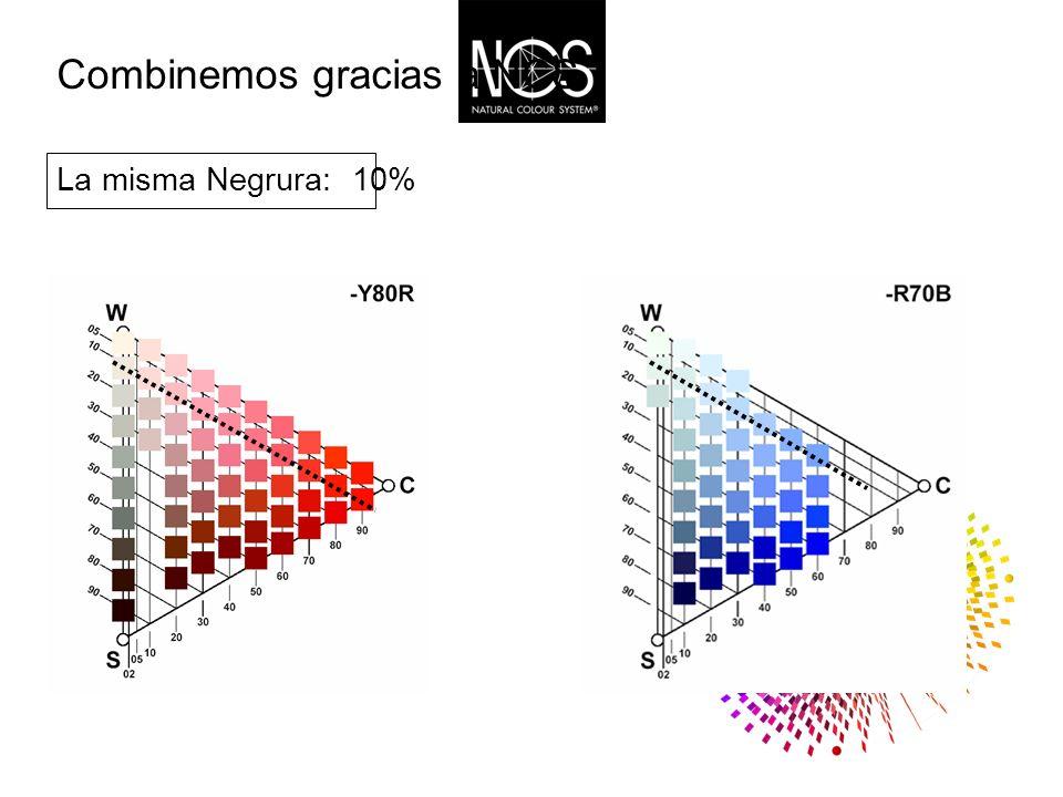 Combinemos gracias a NCS 10% La misma Negrura: