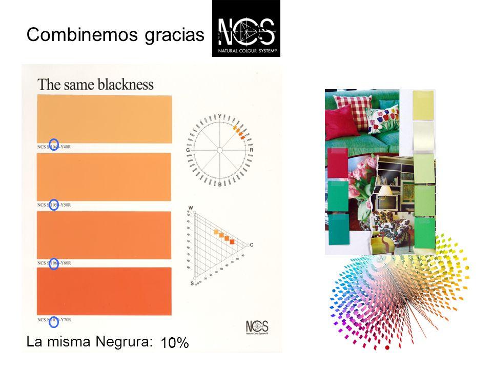 Combinemos gracias a NCS Misma Cromaticidad 10%