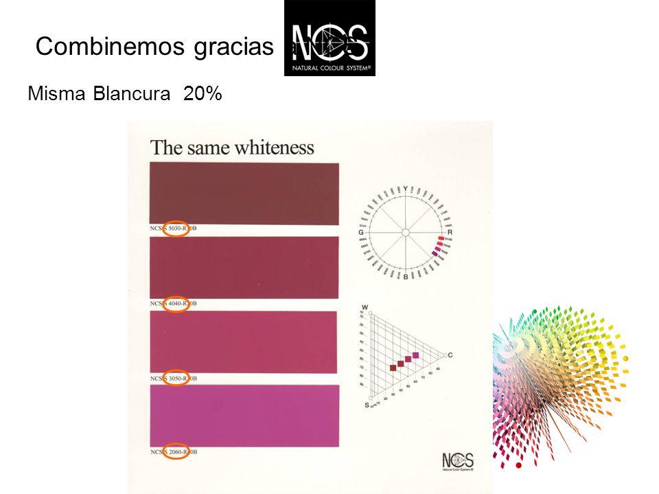Misma Blancura 20% Combinemos gracias a NCS