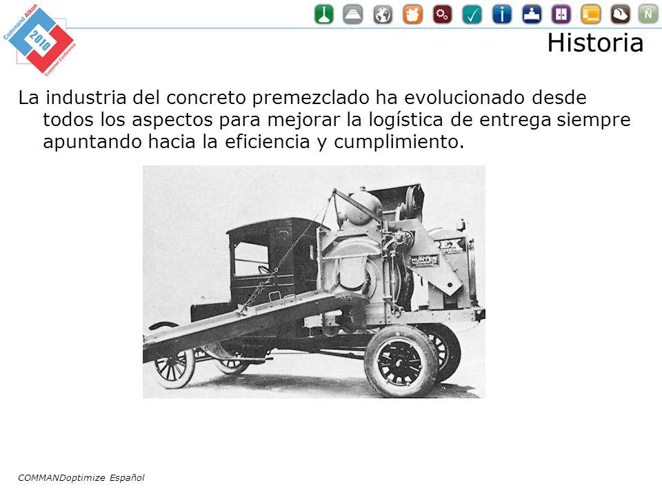 Historia La industria del concreto premezclado ha evolucionado desde todos los aspectos para mejorar la logística de entrega siempre apuntando hacia la eficiencia y cumplimiento.