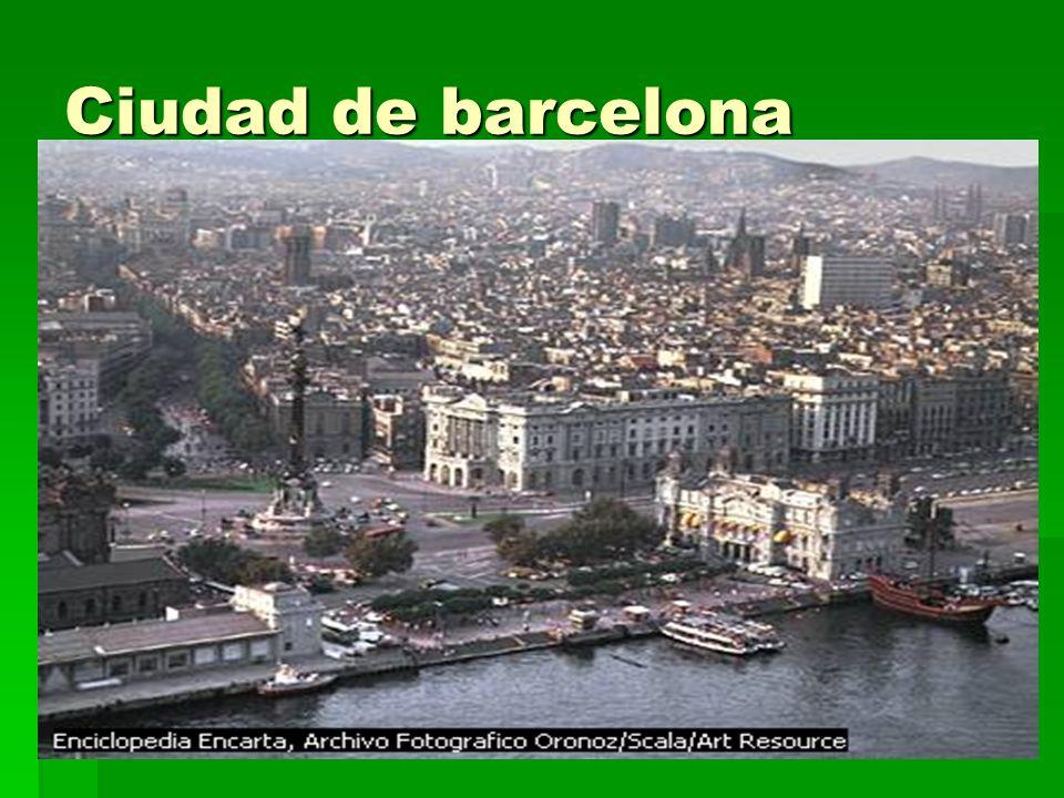 Barcelona Barcelona (ciudad, España), ciudad del noreste de España, capital de la provincia de Barcelona y de la comunidad autónoma de Cataluña. Está