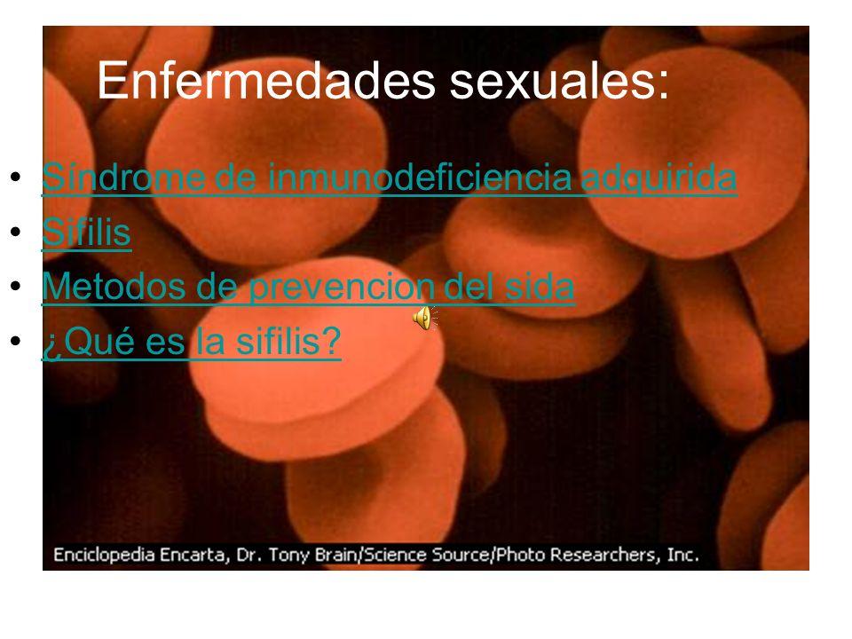 Enfermedades sexuales