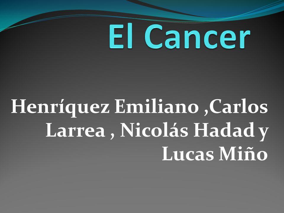 Etapa extensa El pronóstico en esta etapa es muy malo si no se trata el cáncer.
