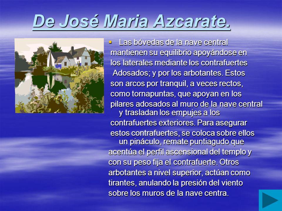 De José Maria Azcarate.
