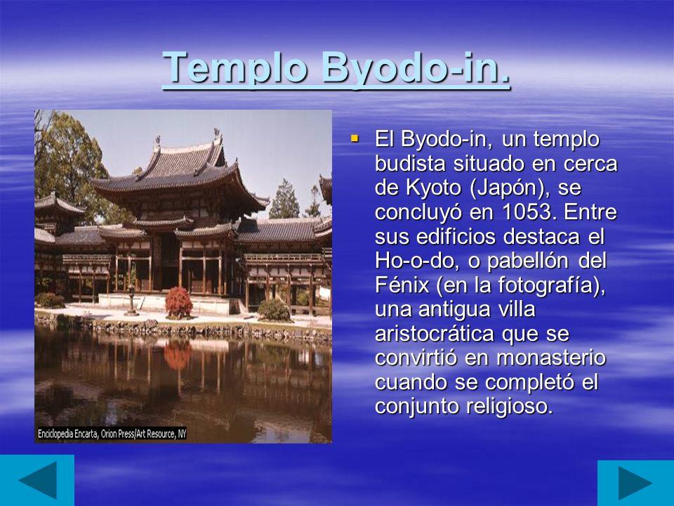 Templo Byodo-in.