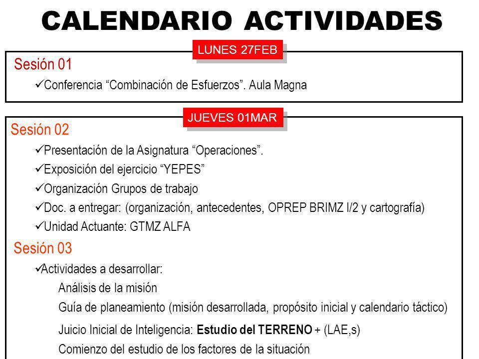 ANTECEDENTESGENERALESANTECEDENTESGENERALES IV CURSO ADAPTACIÓN ESCALA DE OFICIALES EJERCICIO YEPES 2012