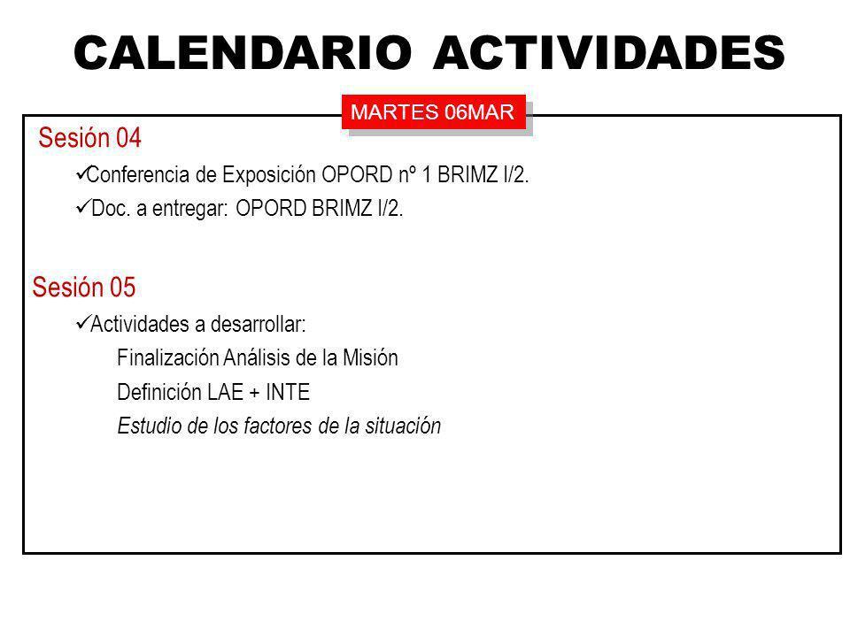 El día D-10 el País LEVANTE (enemigo) forzó la frontera según las direcciones generales: ESTREMERA – VALDEMORO – VALMOJADO.