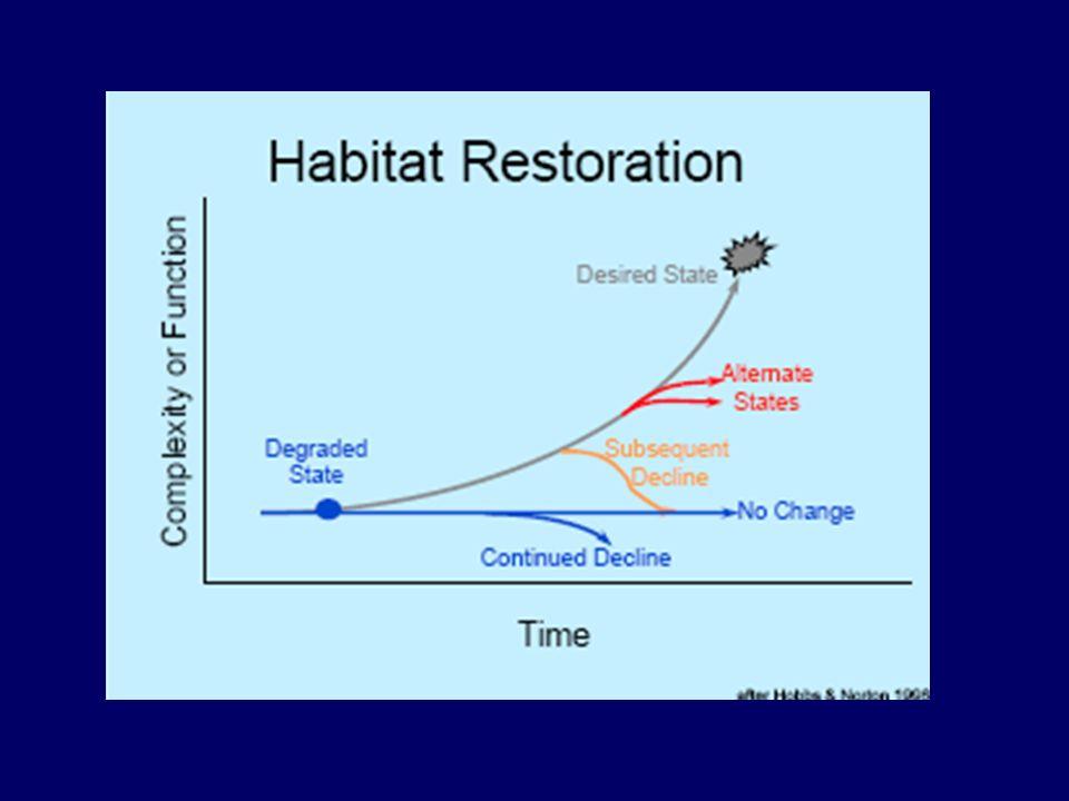 En la actualidad se han desarrollado y continúan desarrollándose diferentes estrategias para revertir el deterioro, como la rehabilitación, reclamación y restauración ecológica, que comúnmente se confunden entre sí, ya que guardan cierta relación, pero que se diferencian en cuanto a objetivos, metas y compromisos en la recuperación del ecosistema; además de existir otras estrategias para mitigar los efectos de la degradación como el reemplazamiento, recubrimiento vegetal y la remediación.