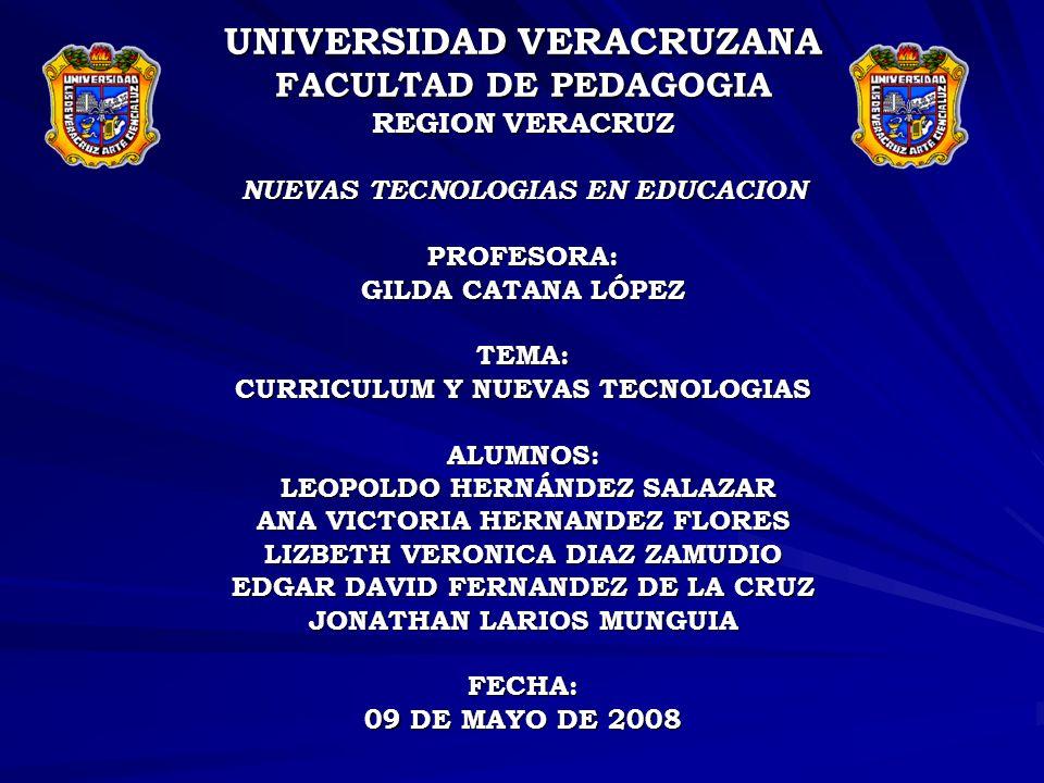 BIBLIOGRAFIA: http://nuevastecnologiasuv.files.wordpress.com/2008/02/programadenuev astecnologias061.doc http://www.guiaacademica.com/educacion/personas/cms/colombia/e- learning/ARTICULO-WEB-eee_pag-276783.aspx http://redalyc.uaemx.mx/readlyc/pdf/800/80002403.pdf Jacques Delors (1996 ), LA EDUCACIÓN ENCIERRA UN TESORO Informe a la UNESCO de la Comisión Internacional sobre la Educación para el Siglo XXI, Ediciones UNESCO.