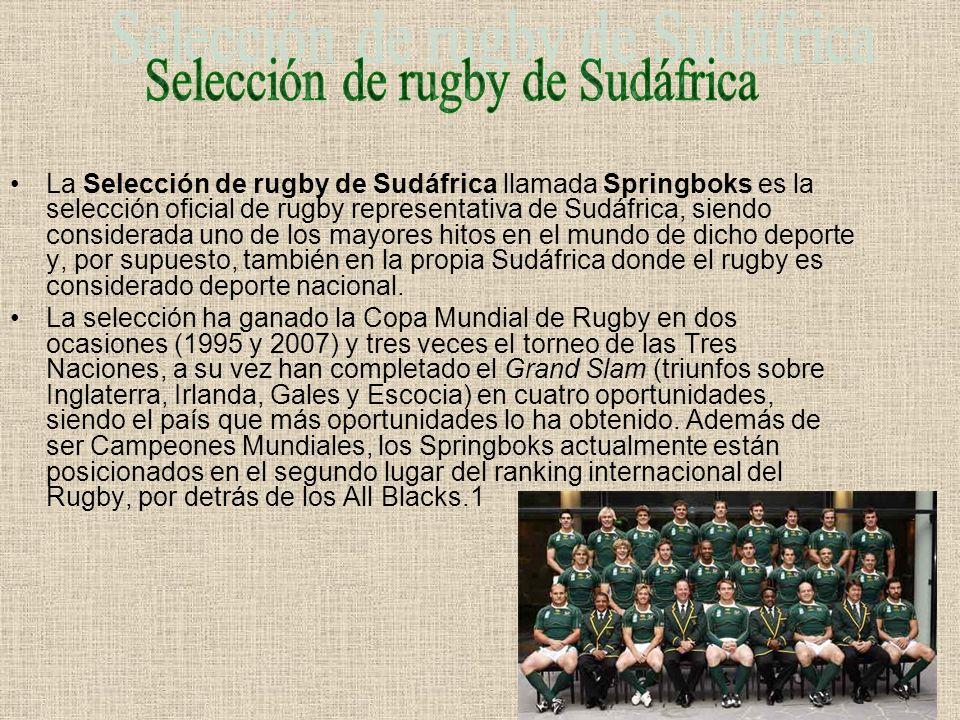 La Selección de rugby de Australia representa al país en las competiciones oficiales.Está controlada por la Australian Rugby Union.