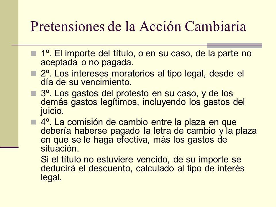Excepciones Legales a la Acción Cambiaria 1º.La incompetencia del juez.