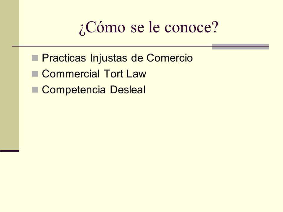 Ámbitos Derecho Privado Regulación de las conductas que interfieren las relaciones comerciales entre los comerciantes; siendo parte de aquellas normas que buscan proteger las relaciones humanas ventajosas en general.