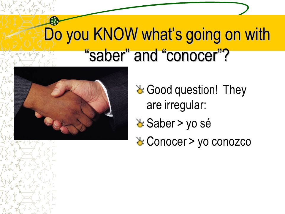 Do you KNOW whats going on with saber and conocer.