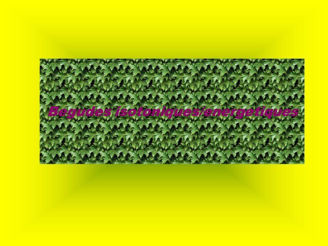 Begudes isotoniques/energetiques