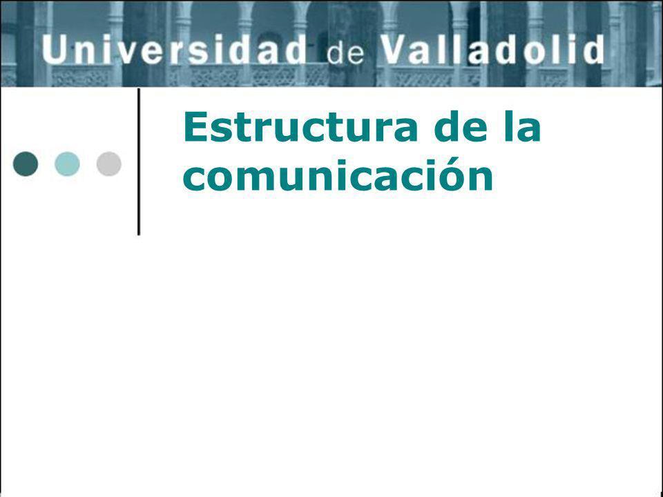 1 Estructura de la comunicación