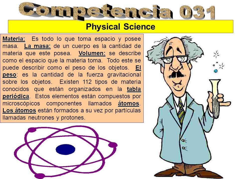 Materia: La masa: Volumen: El peso tabla periódica átomos Los átomos Materia: Es todo lo que toma espacio y posee masa. La masa: de un cuerpo es la ca
