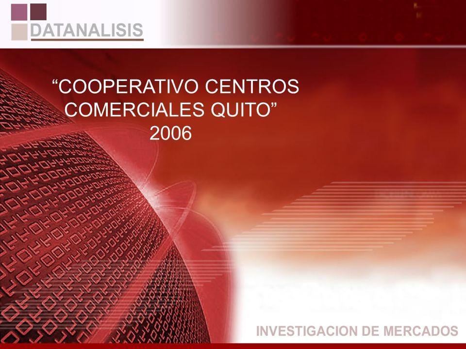 COOPERATIVO CENTROS COMERCIALES QUITO 2006