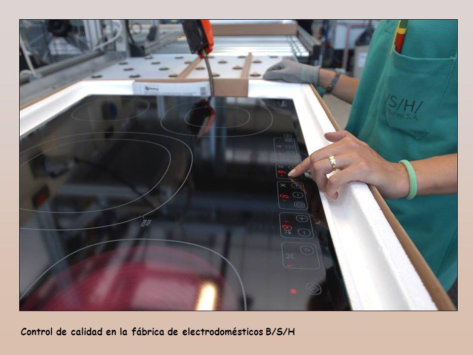Control de calidad en la fábrica de electrodomésticos B/S/H